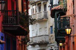 Les balcons de Carthagène