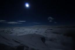 Pleine lune vers 5500m