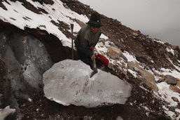 La bonne glace du Chimborazo