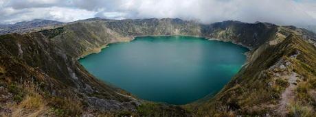 La superbe laguna Quilotoa